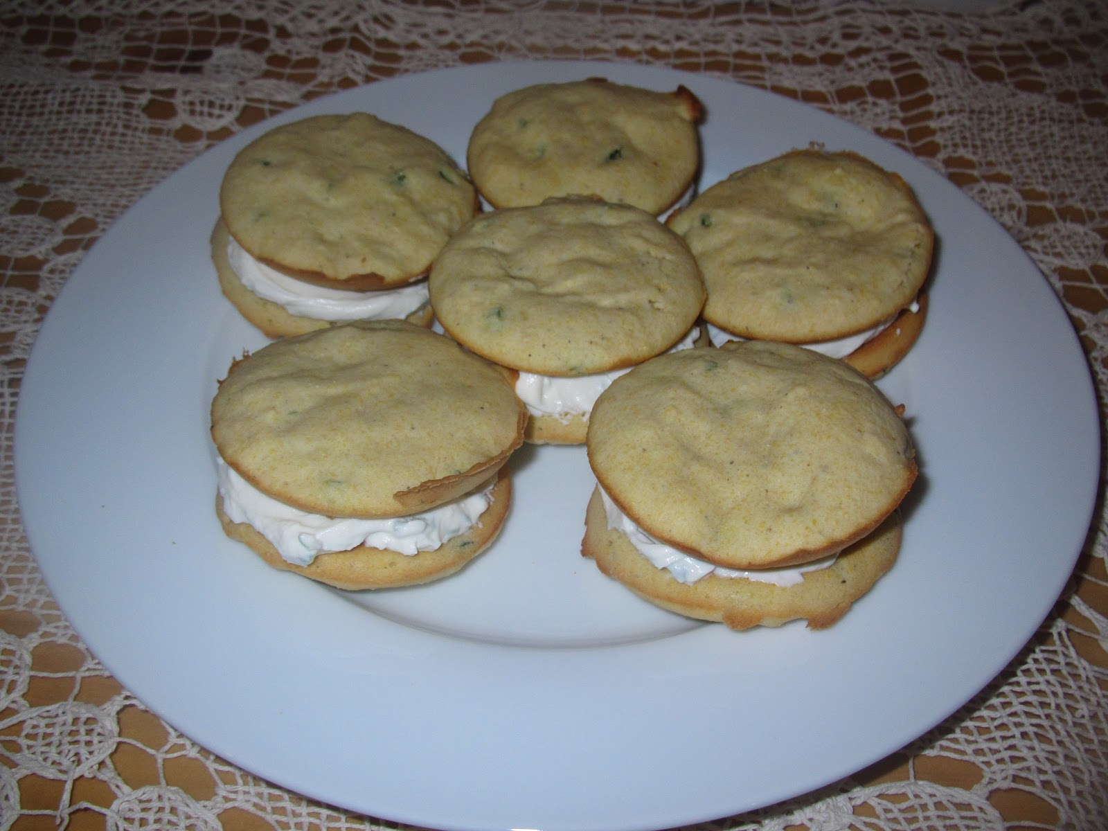 Jalapeño Cornbread Whoopie Pies! - Young At Heart Mommy