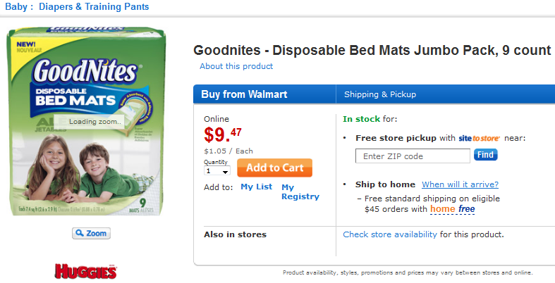 Making Bedtime Comfy With Goodnites Disposable Bed Mats