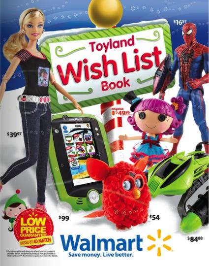 Toyland Wish List Book at Walmart