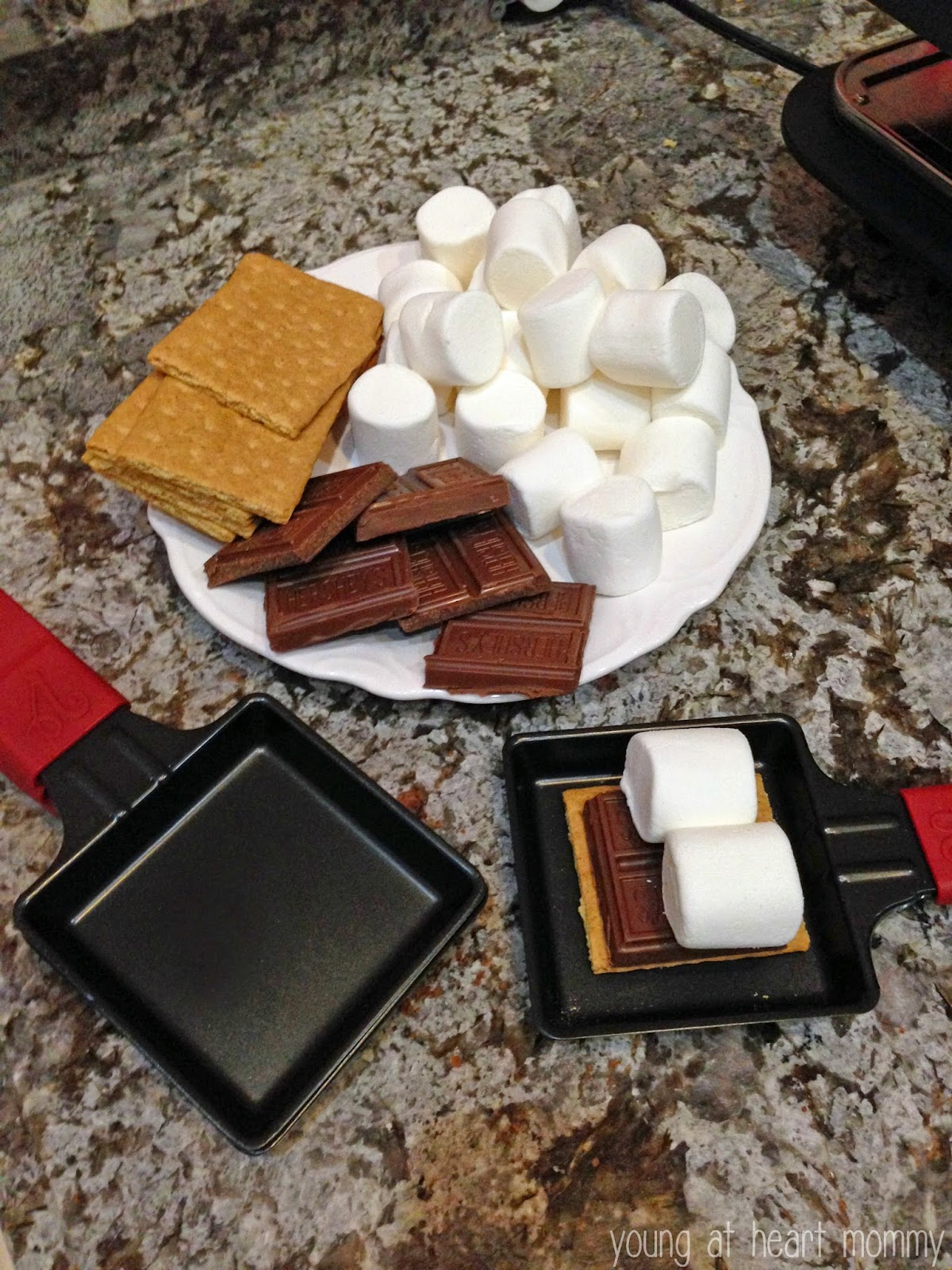 dinner dessert with the velata raclette grill young at heart mommy. Black Bedroom Furniture Sets. Home Design Ideas