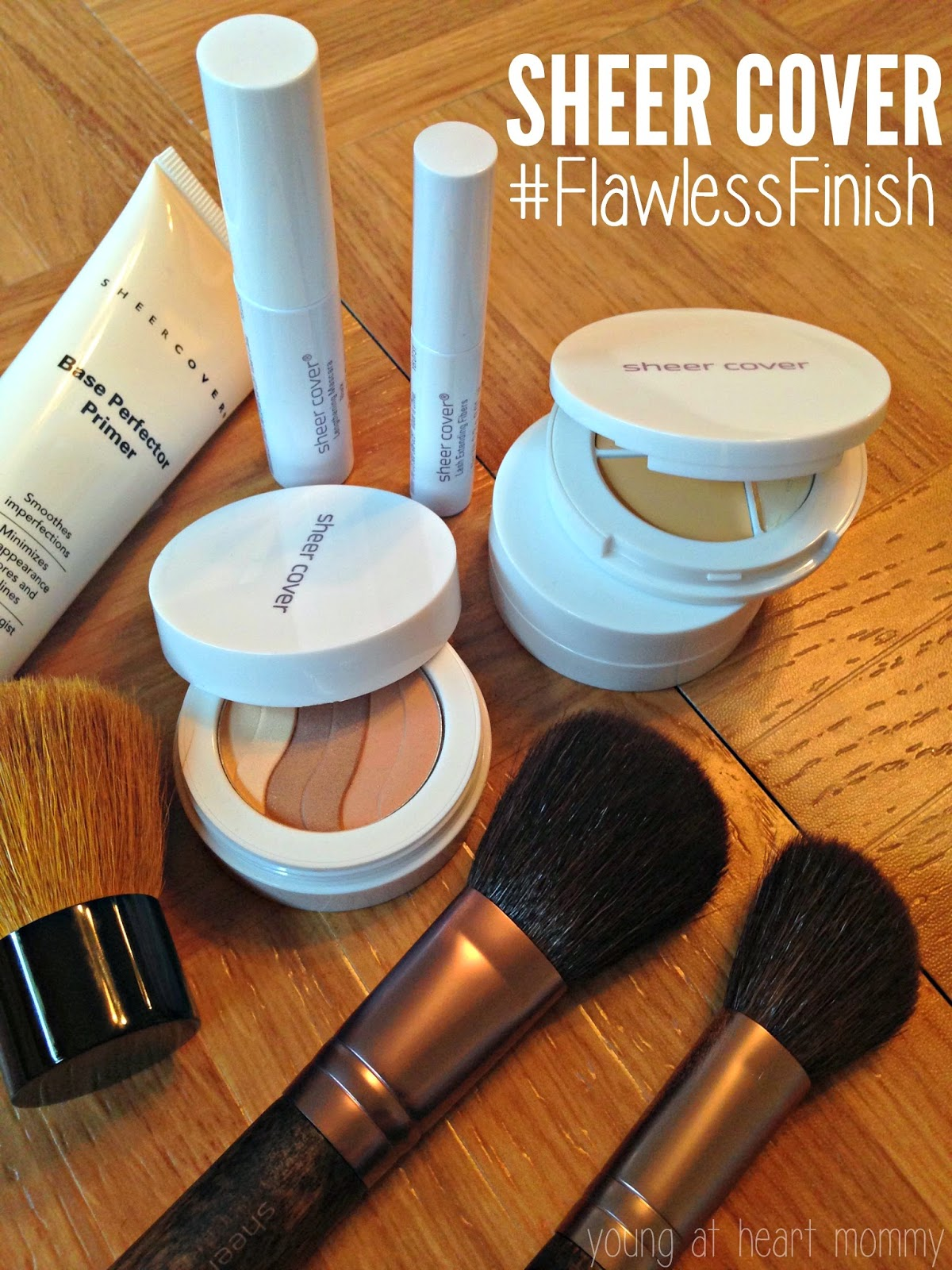Obtain A #FlawlessFinish With Sheer Cover Studio Makeup - Young At Heart Mommy