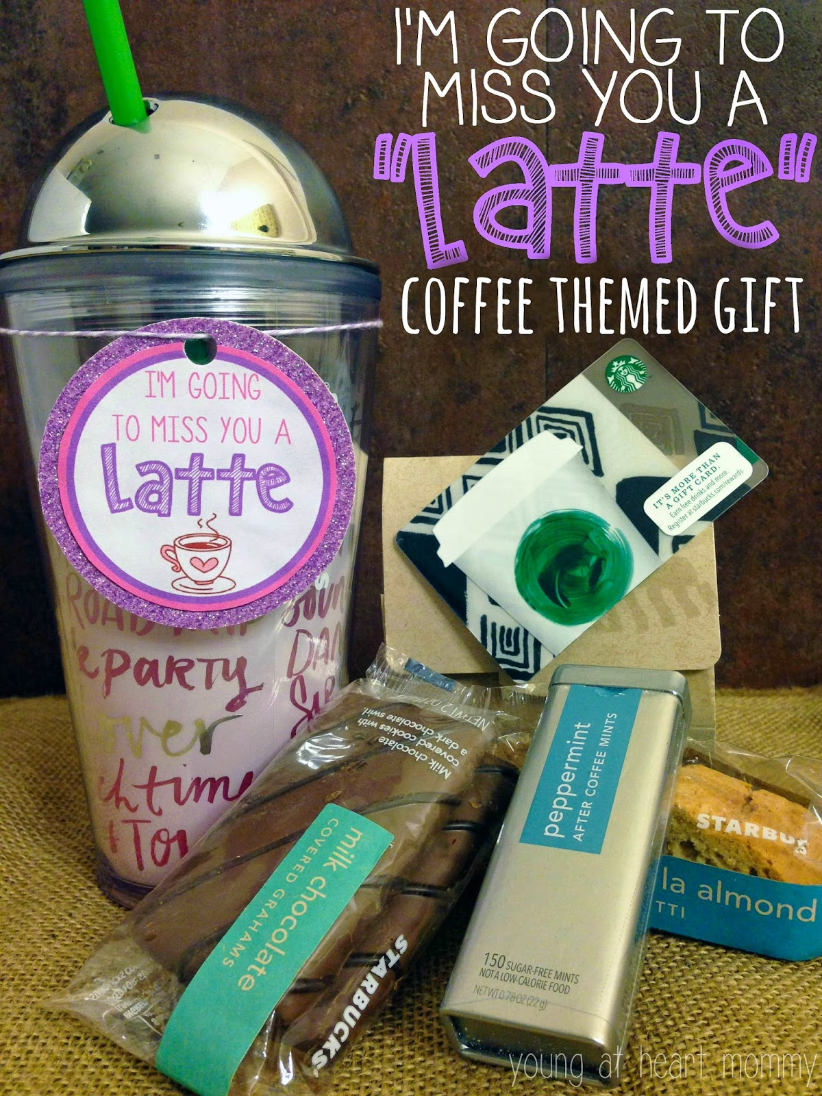 "I'm Going To Miss You A ""LATTE"" Coffee Themed Gift ..."