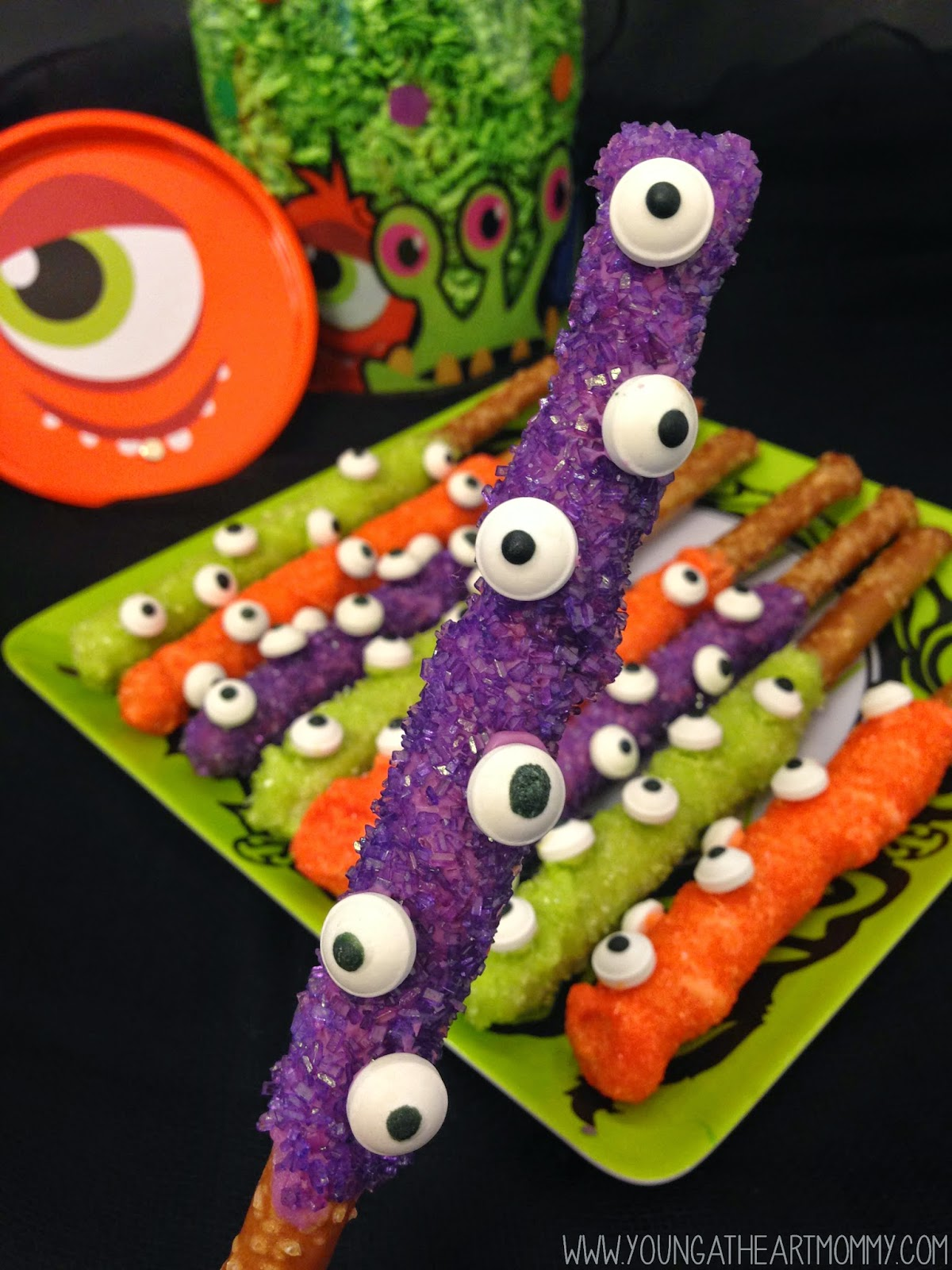 Halloween Recipes - Monster Treats - The 36th AVENUE