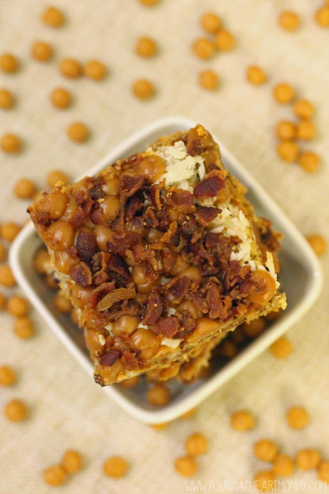 Maple bacon magic bar recipe young at heart mommy