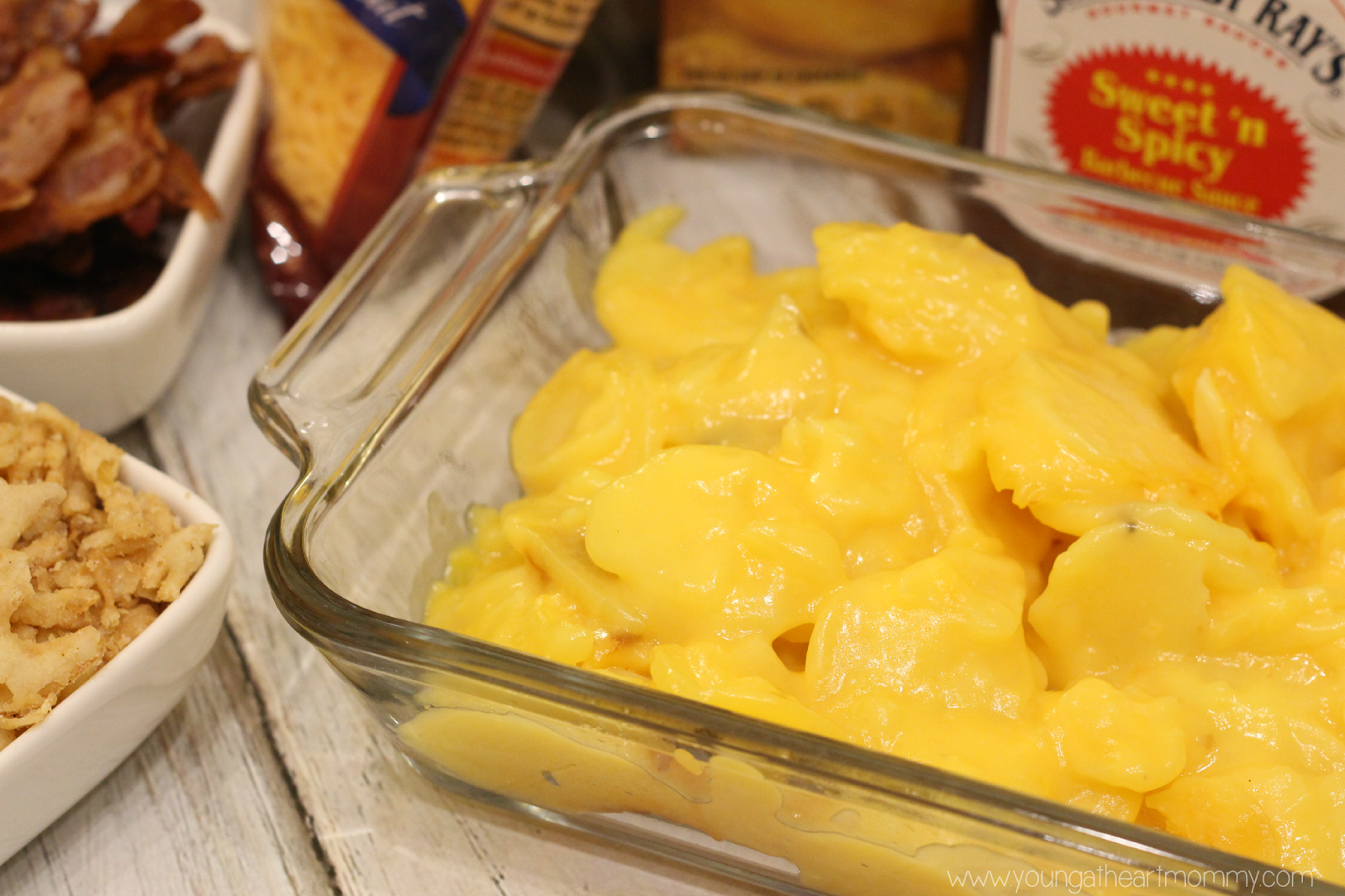 Three Cheese Scalloped Cowboy Potatoes + GIVEAWAY   Young At Heart ...