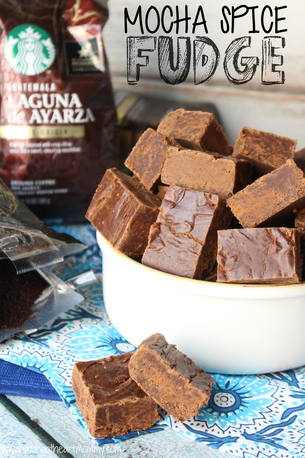 Mocha Spice Fudge recipe using Starbucks Single Origin Coffee Blends