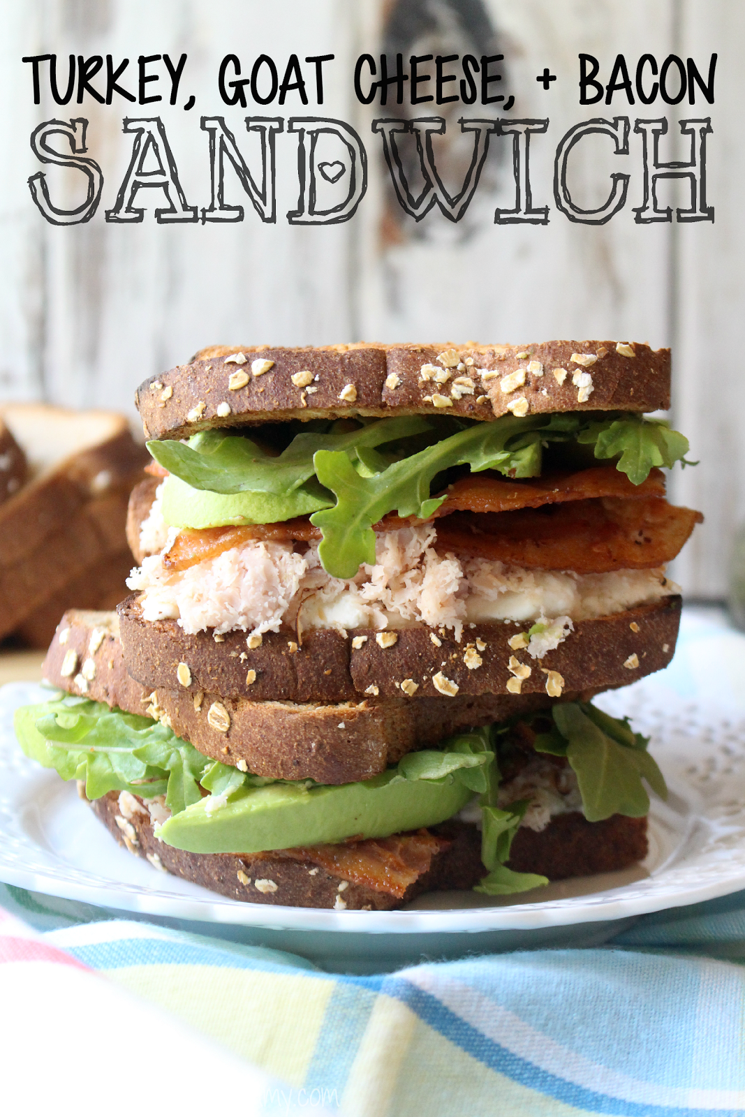 Turkey and Goat Cheese Sandwich Recipe