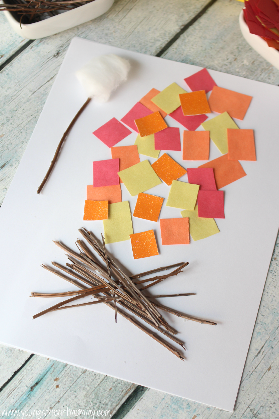 Crafts While Camping With Kids