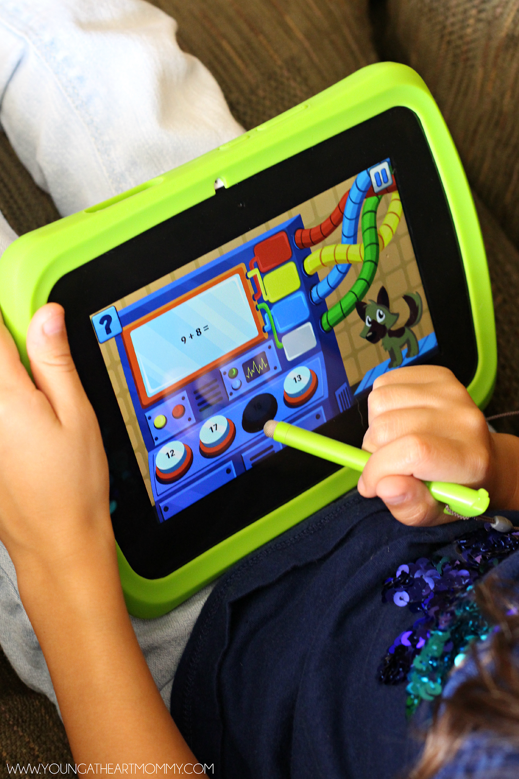 Epic Adventures With The LeapFrog Epic Tablet - Young At