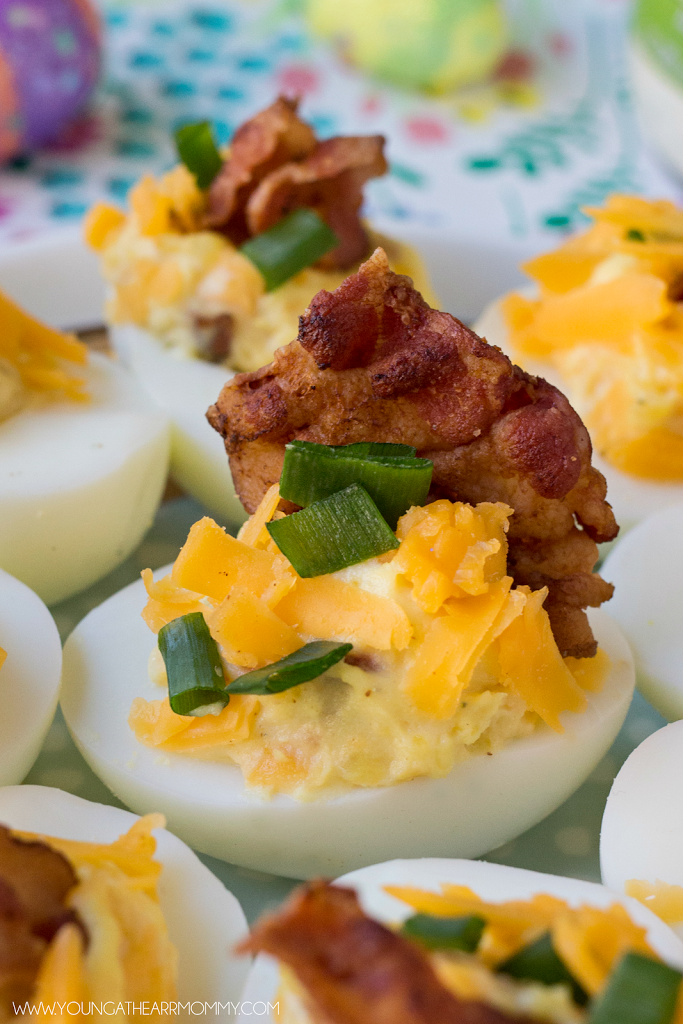 The Best Loaded Deviled Eggs