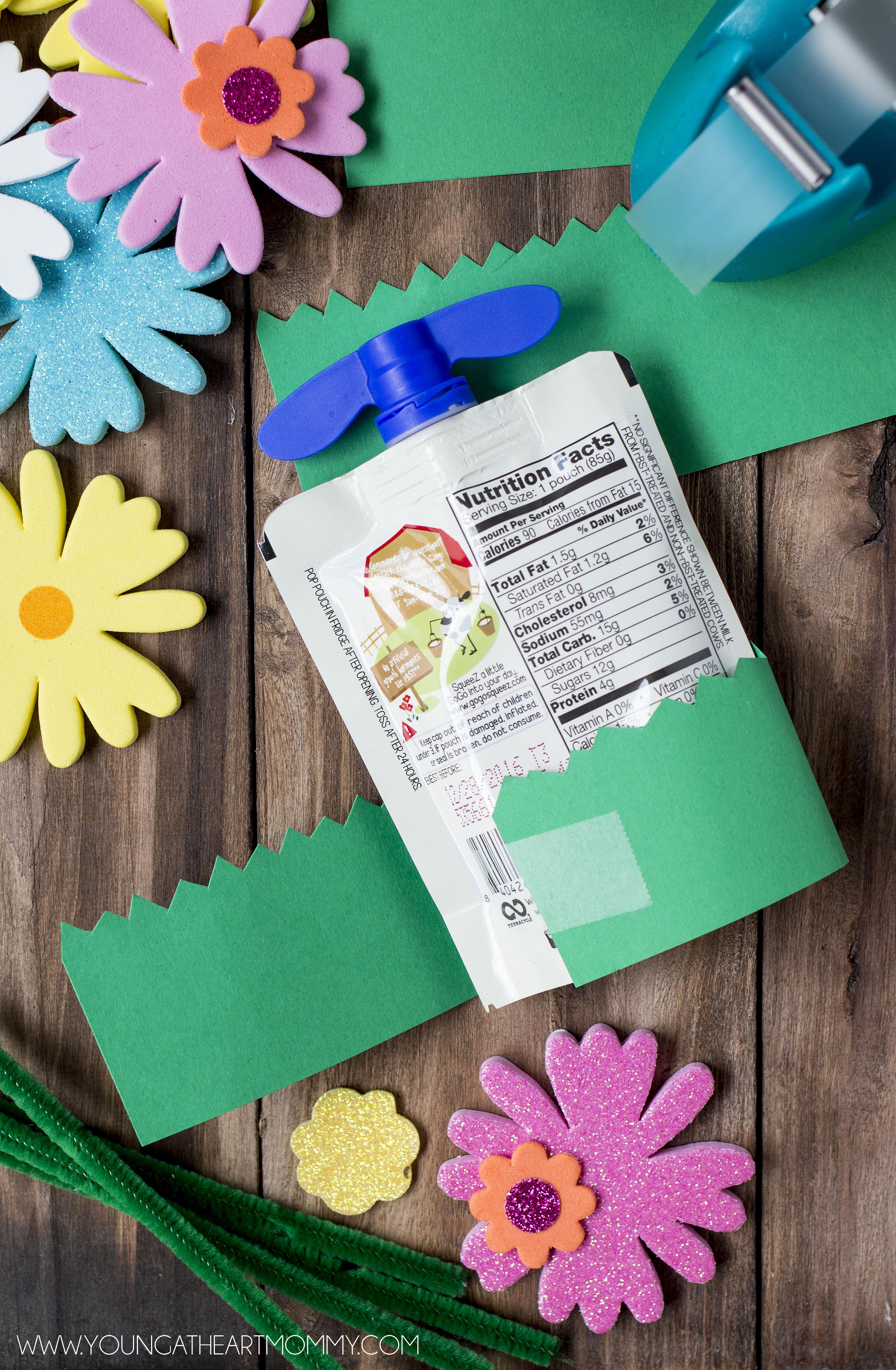 Springtime-Yogurt-Pouch-Craft