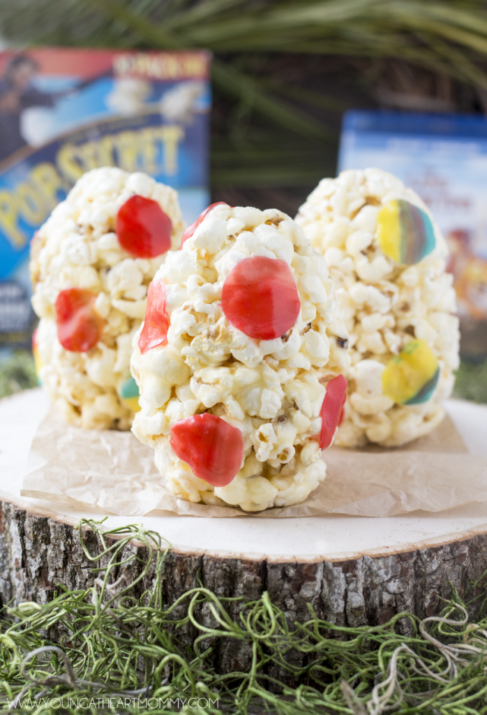 Marshmallow Popcorn Eggs