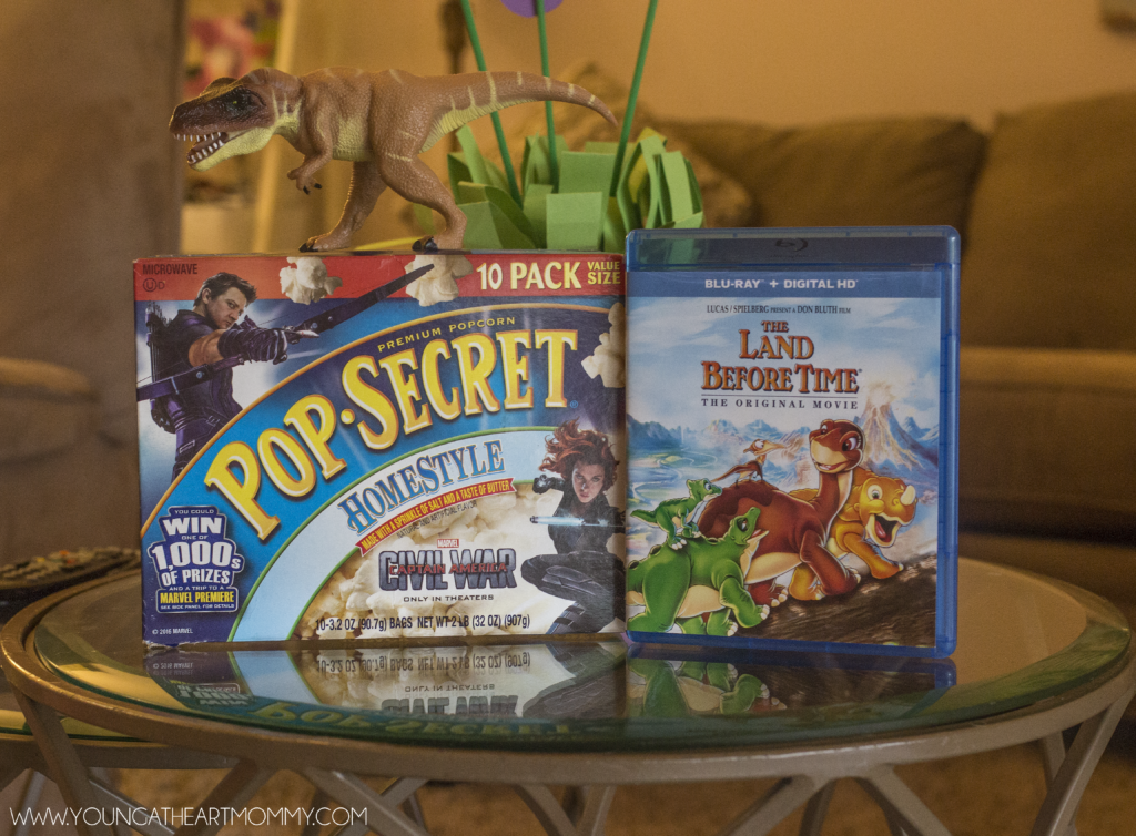 Movie Night With PopSecret And Land Before Time