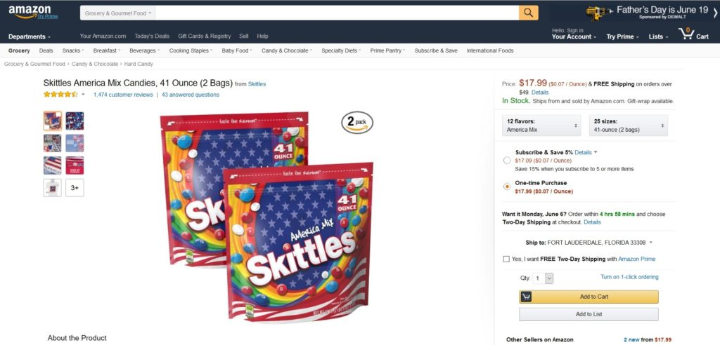 Skittles-American-Mix-On-Amazon