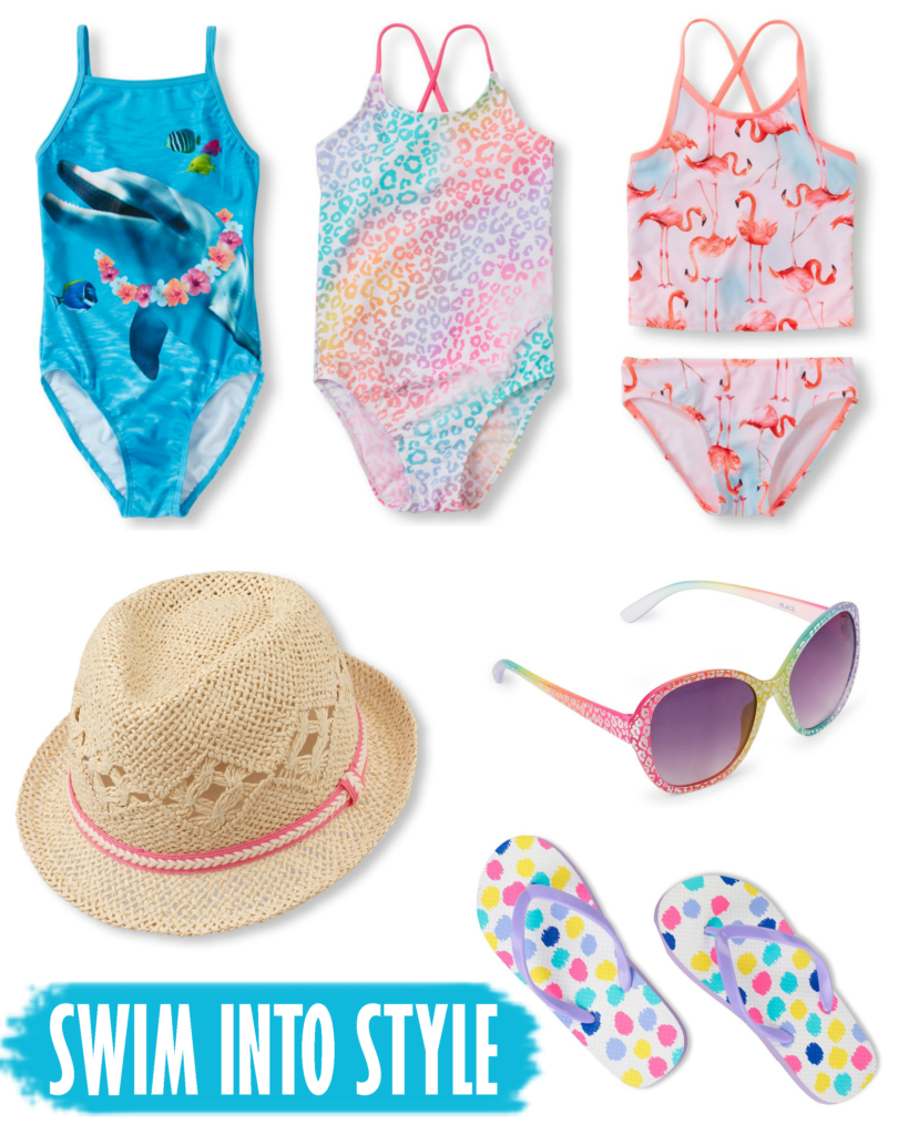 Swim Into Style At The Childrens Place