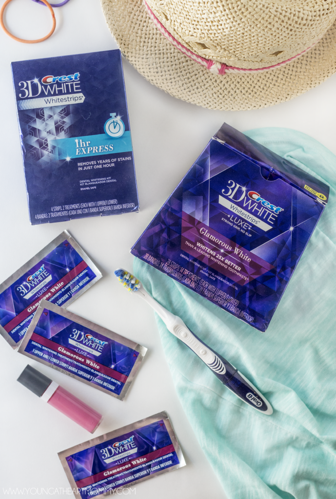 Crest Whitening Strips Can Help You Get A Whiter Summer Smile