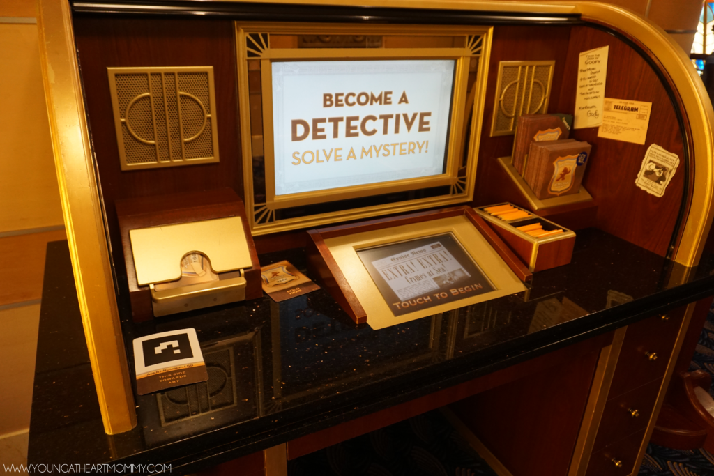 Become A Detective Interactive Game On The Disney Dream