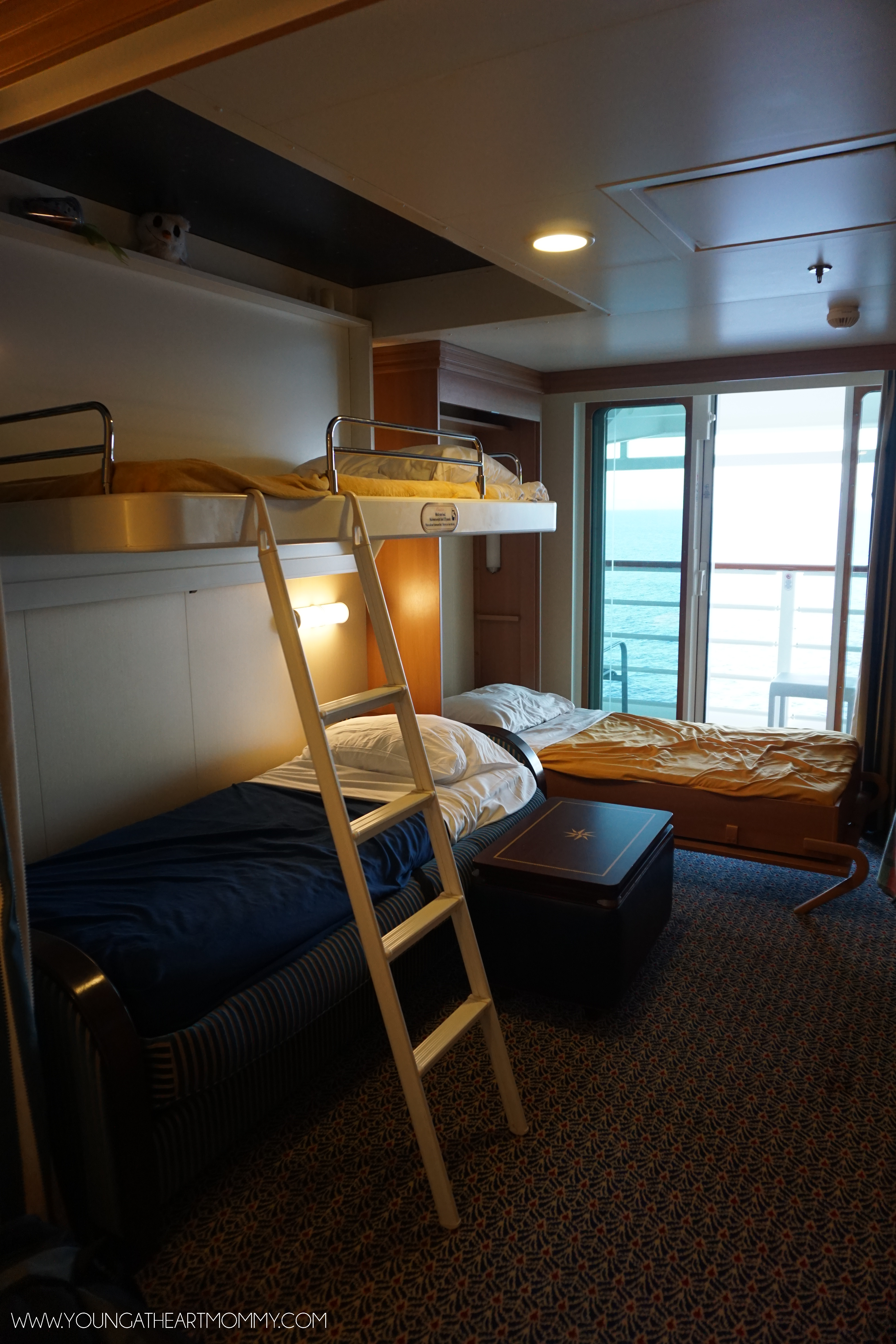 Disney Dream Cruise Bunk Beds Young At Heart Mommy
