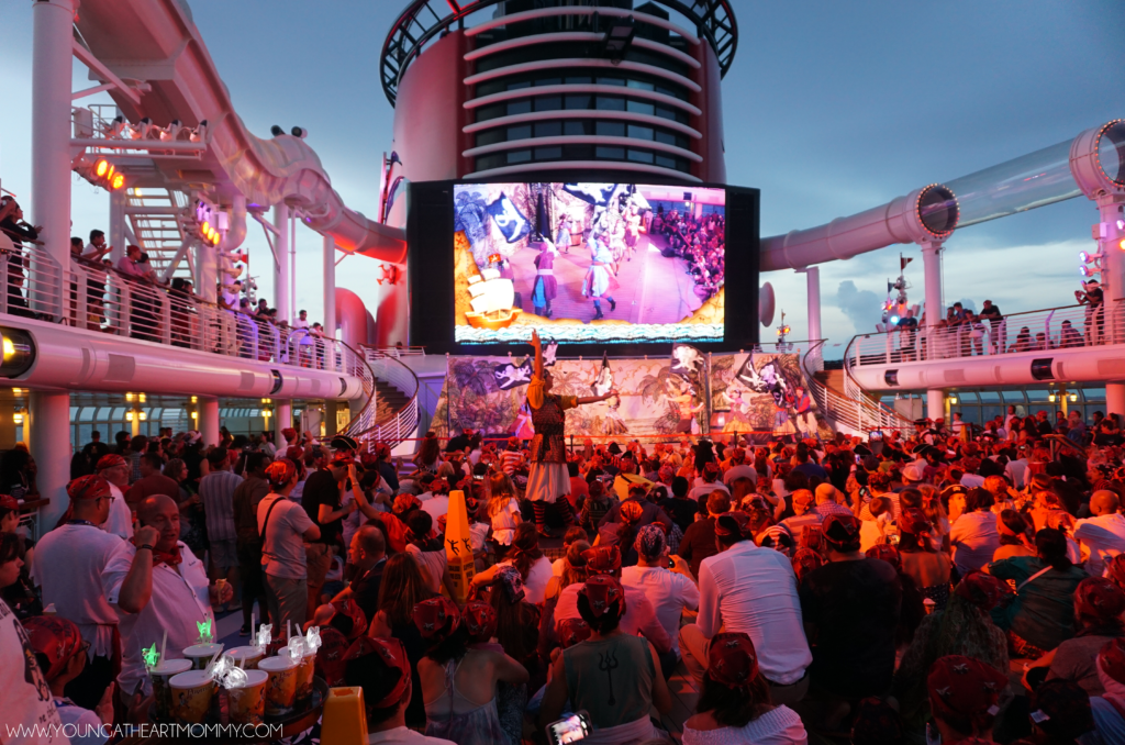 Disney Dream Cruise Pirate Night