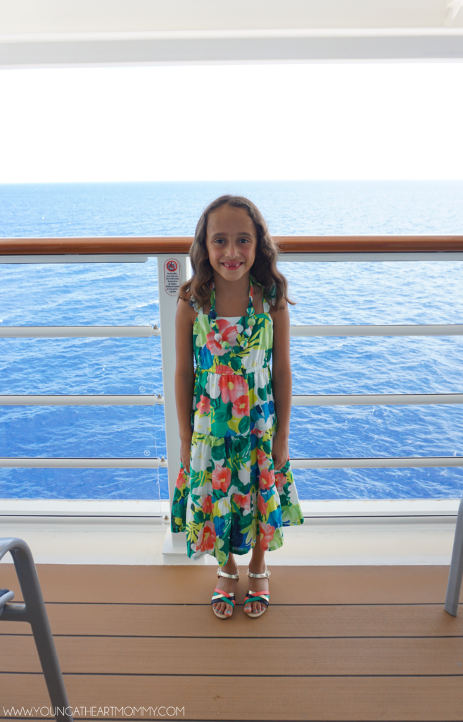 Disney Dream Cruise Veranda