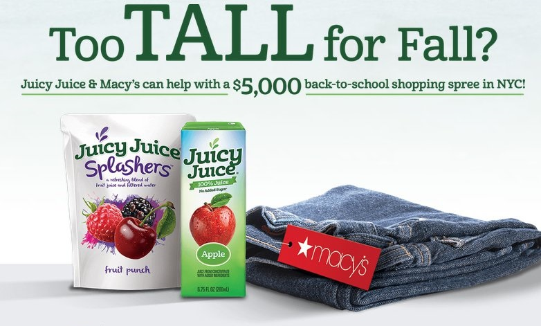 Macys Perfect Fit Sweepstakes