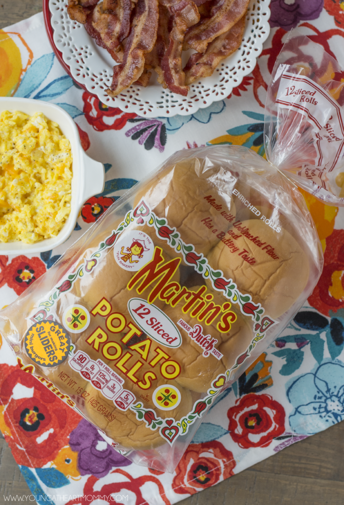 Martin's Potato Rolls Make The Breakfast Sandwiches