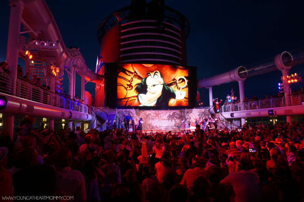 Pirate Night On The Disney Dream Cruise