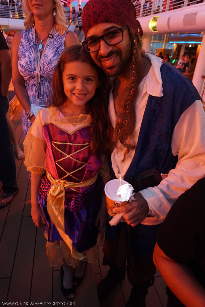 Pirate Party On Disney Dream Cruise