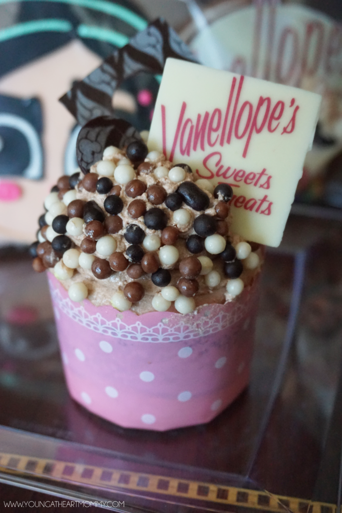 Vanellope's Sweets And Treats Nutella Cupcake On The Disney Dream