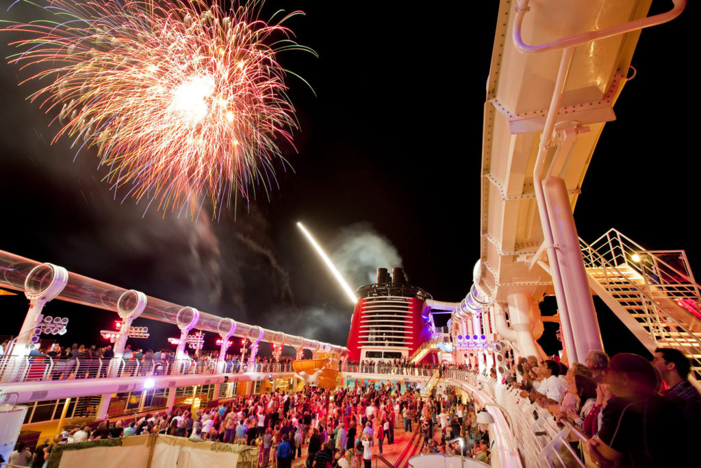 Buccaneer Blast Firework Show (Photo: Disney Cruise Line and Matt Stroshane)