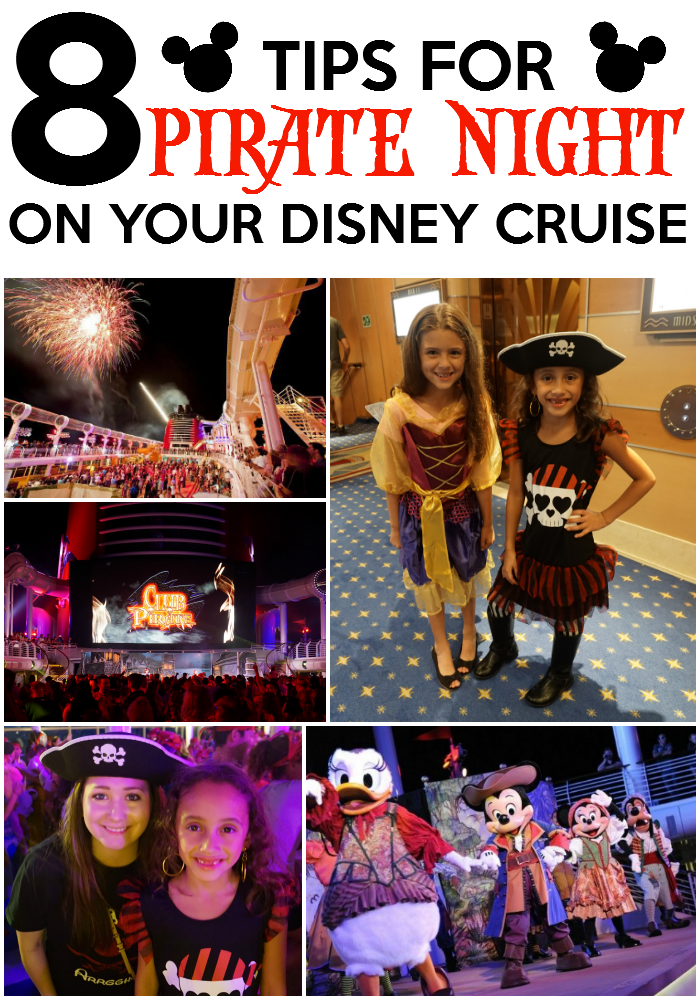 8 Tips For Pirate Night On Your Disney Cruise