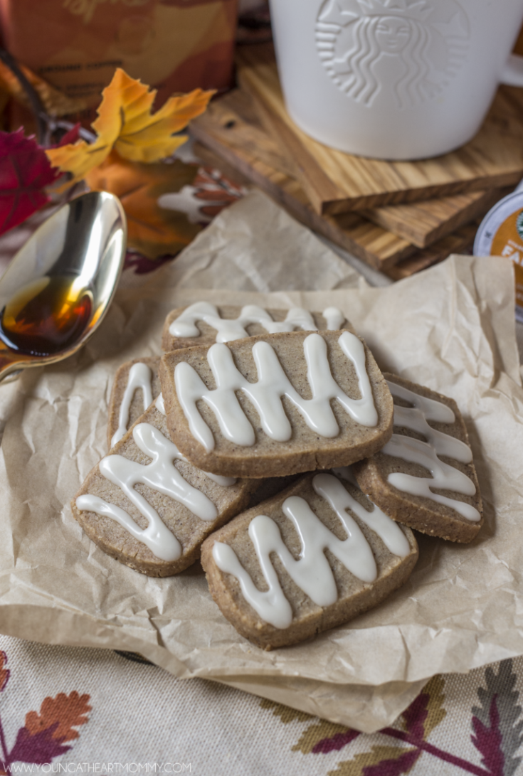 Nothing says Fall like baking! Chai Shortbread Cookies are sweet, crunchy, and have a kick of spice to them.