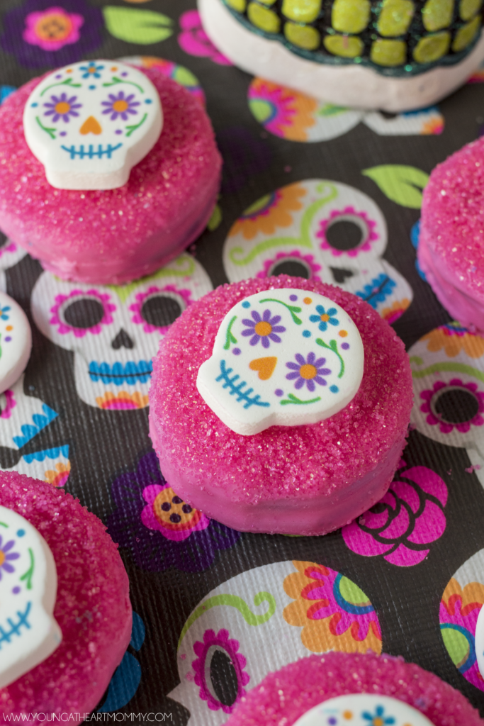 colorful-day-of-the-dead-sugar-skull-cookies