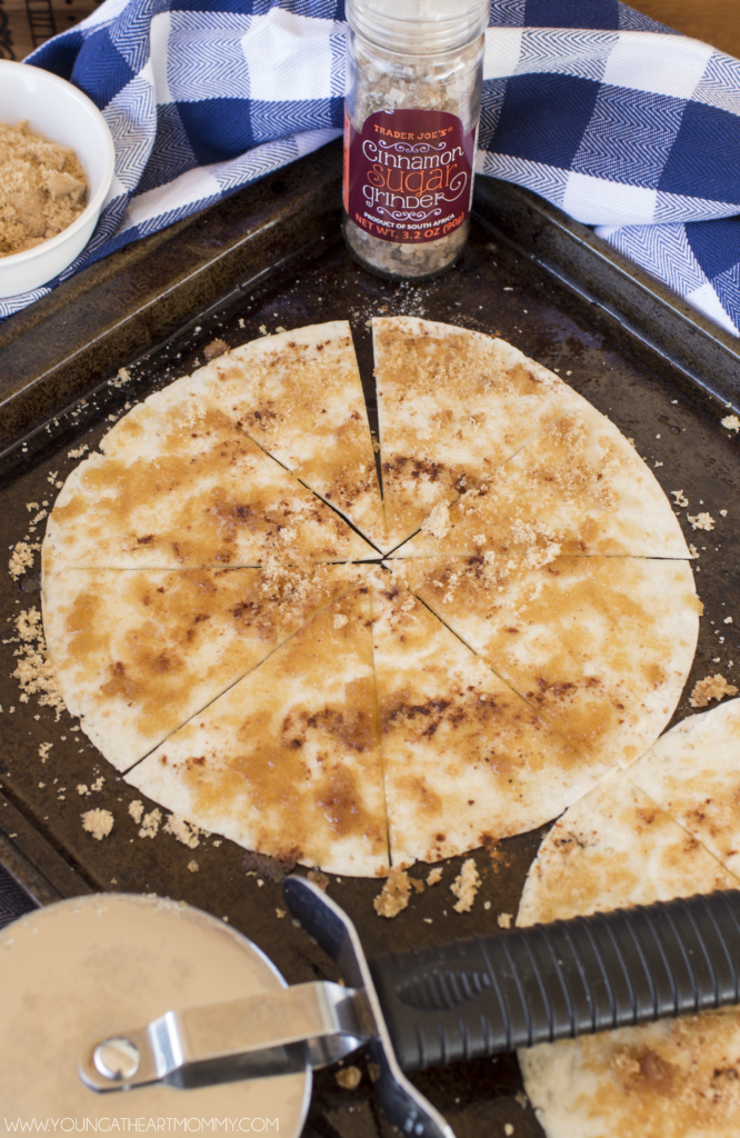 How To Make Homemade Cinnamon Sugar Chips From Tortillas