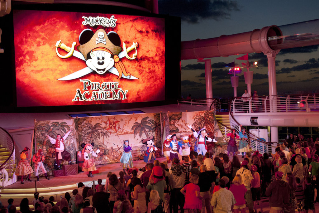Mickeys Pirate Academy (Photo: Disney Cruise Line)