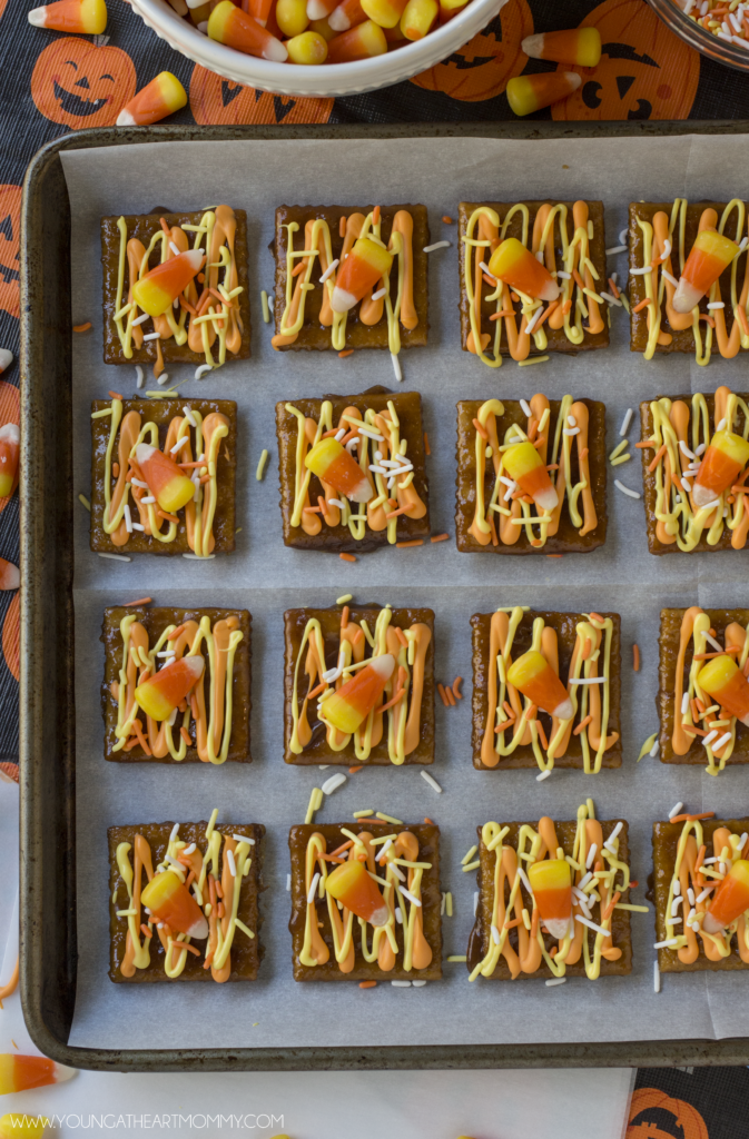 candy-corn-saltine-toffee