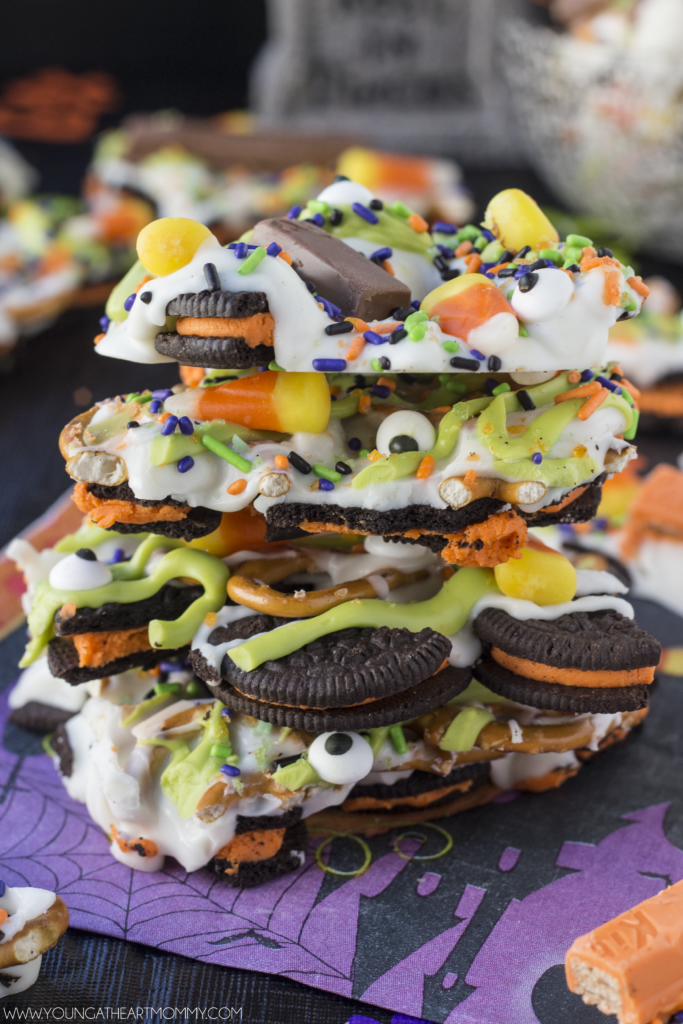Easy Halloween Bark With Pop Rock Candy
