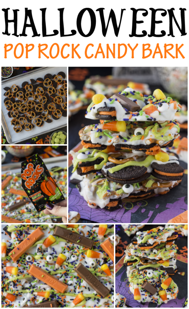Halloween Pop Rock Candy Bark