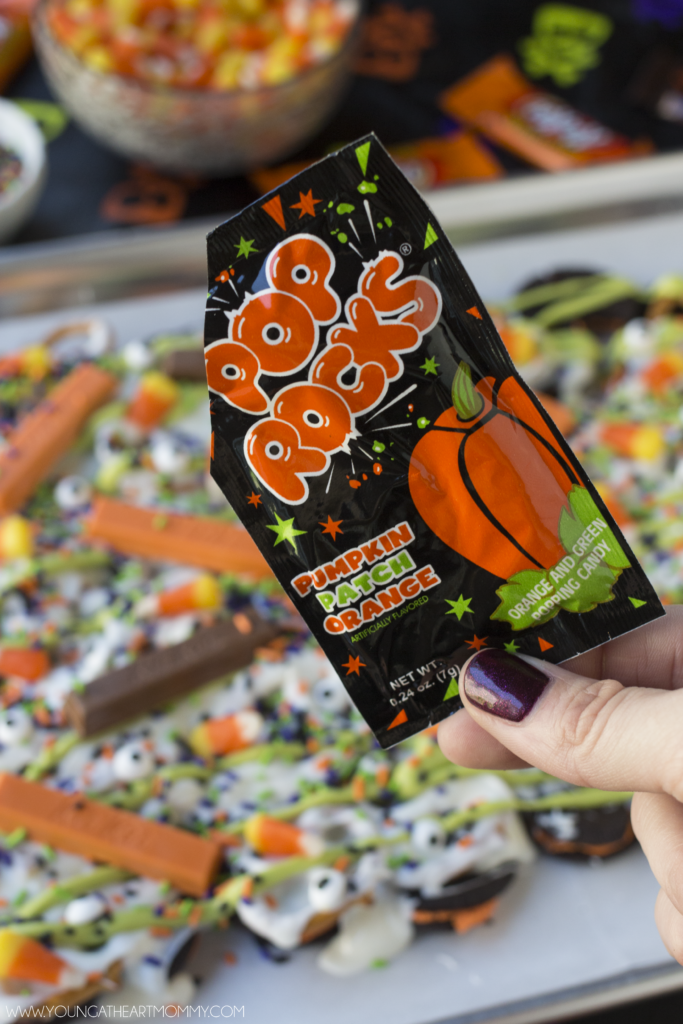 Pop Rock Halloween Candy Bark