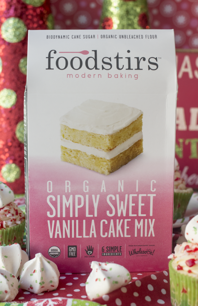 Foodstirs Organic Simply Sweet Vanilla Cake Mix