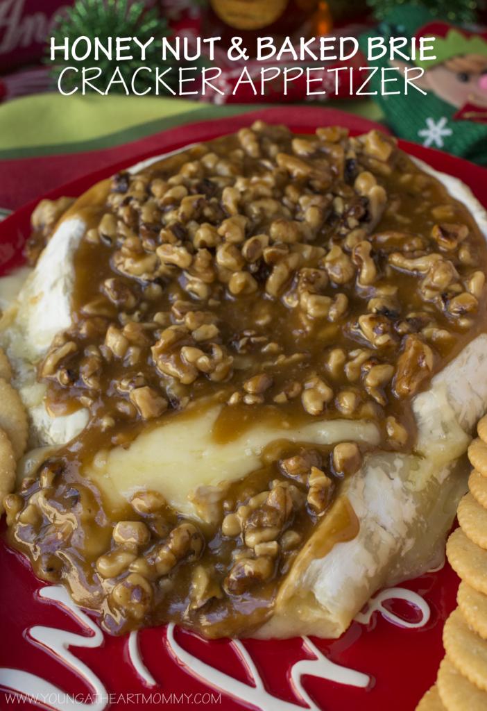 Honey Nut Baked Brie Appetizer