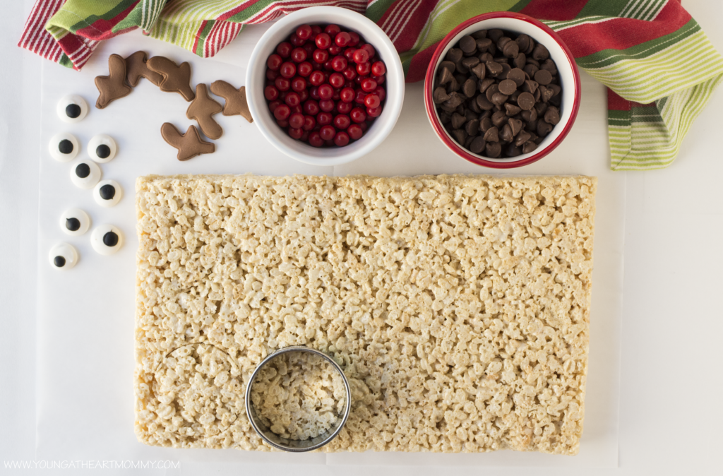 Rudolph Rice Krispie Treat Tutorial