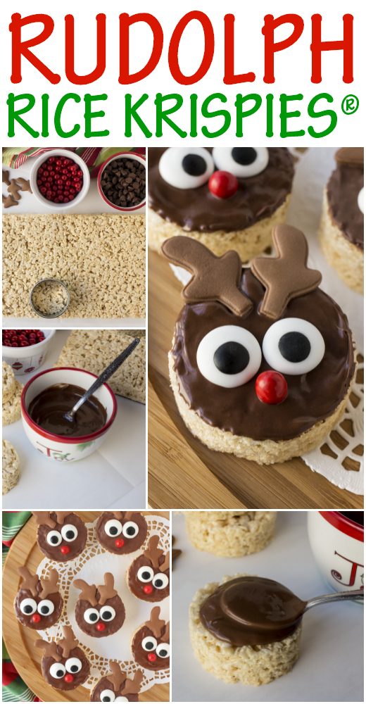 Rudolph Rice Krispies Treats