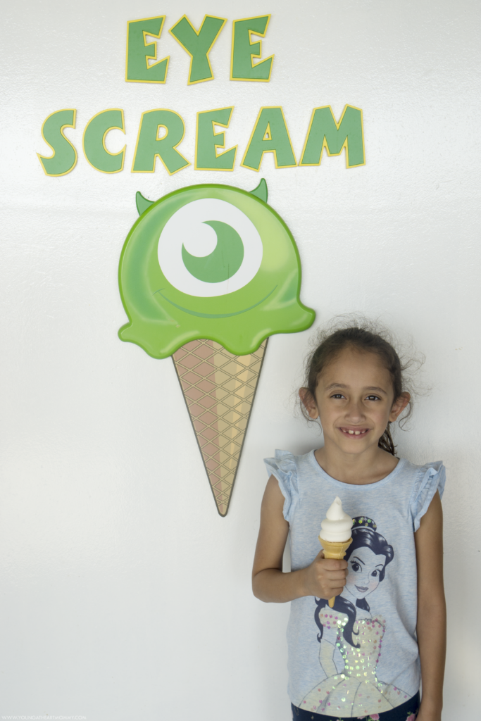 Eye Scream Ice Cream On Disney Cruiseline