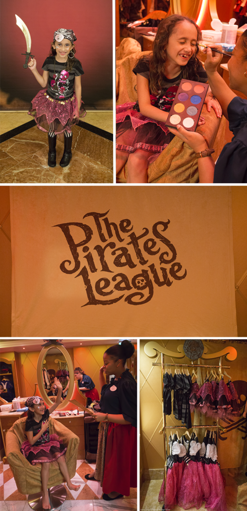 Pirate League On Disney Cruiseline