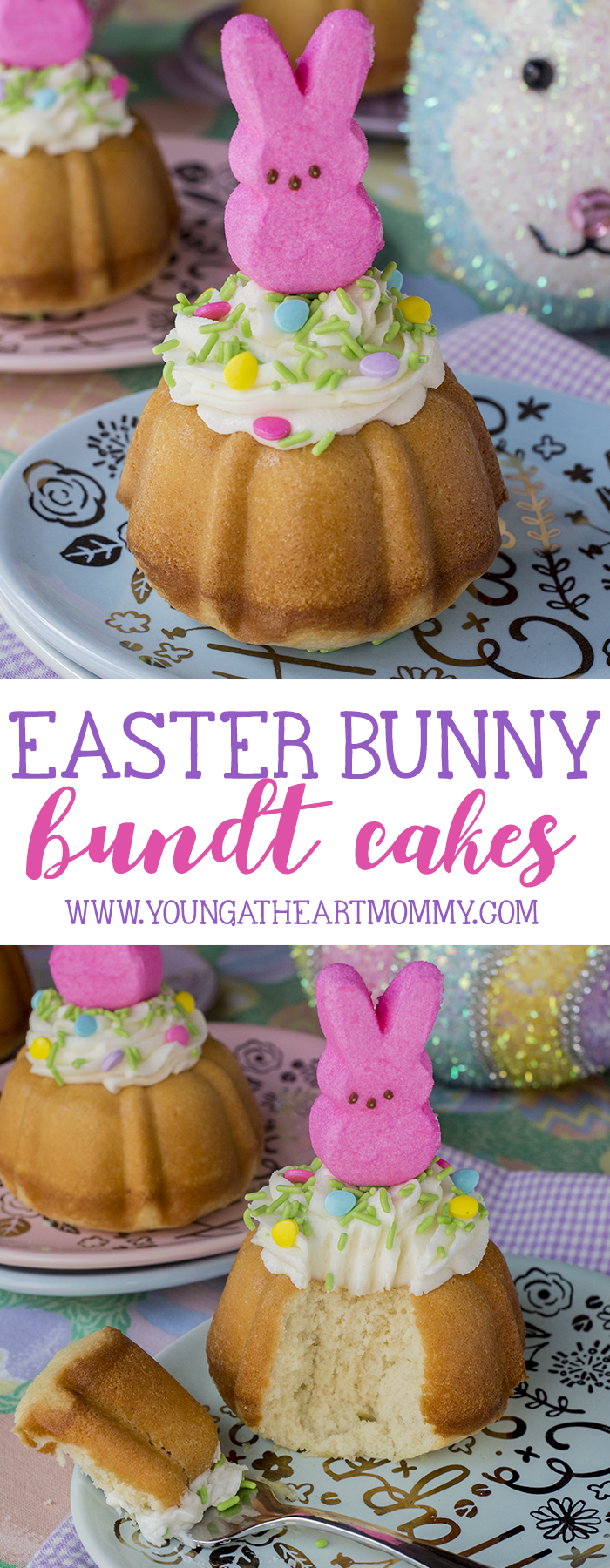 Easter Bunny Bundt Cakes Young At Heart Mommy