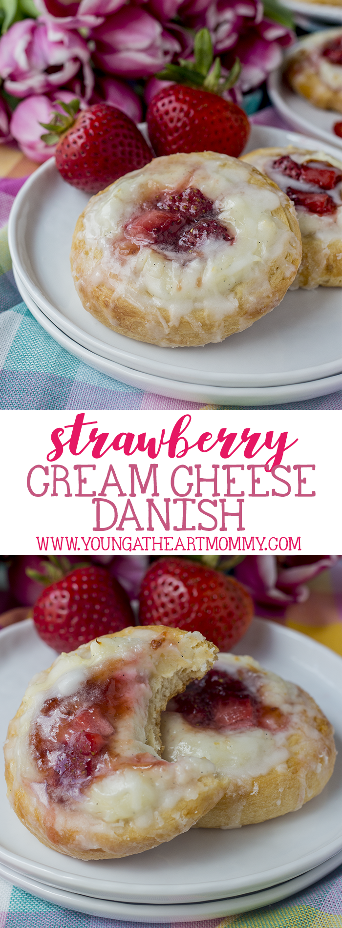 The EASIEST Strawberry Cream Cheese Danish Recipe