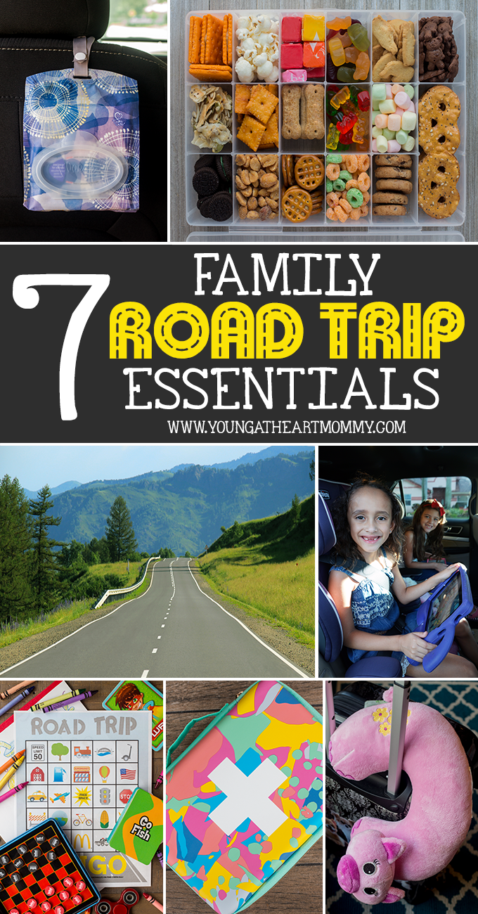 7 Essentials For Your Family Road Trip This Summer