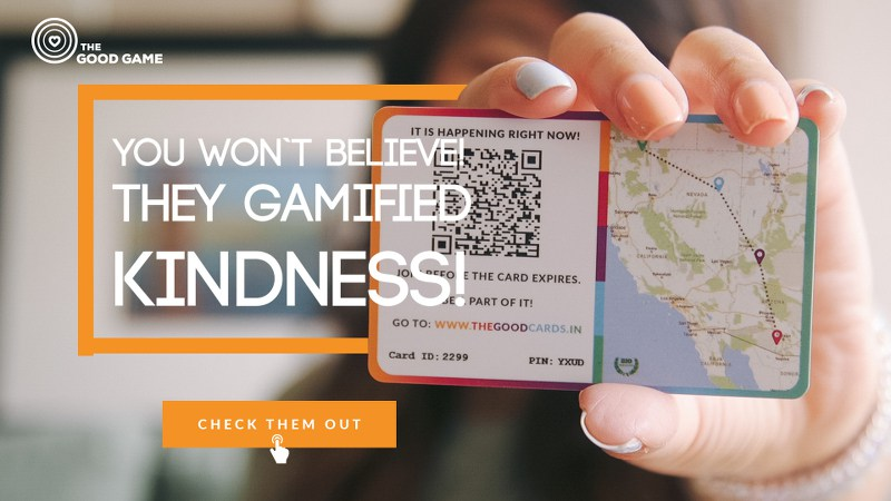Spread Kindness With The New Good Cards Game