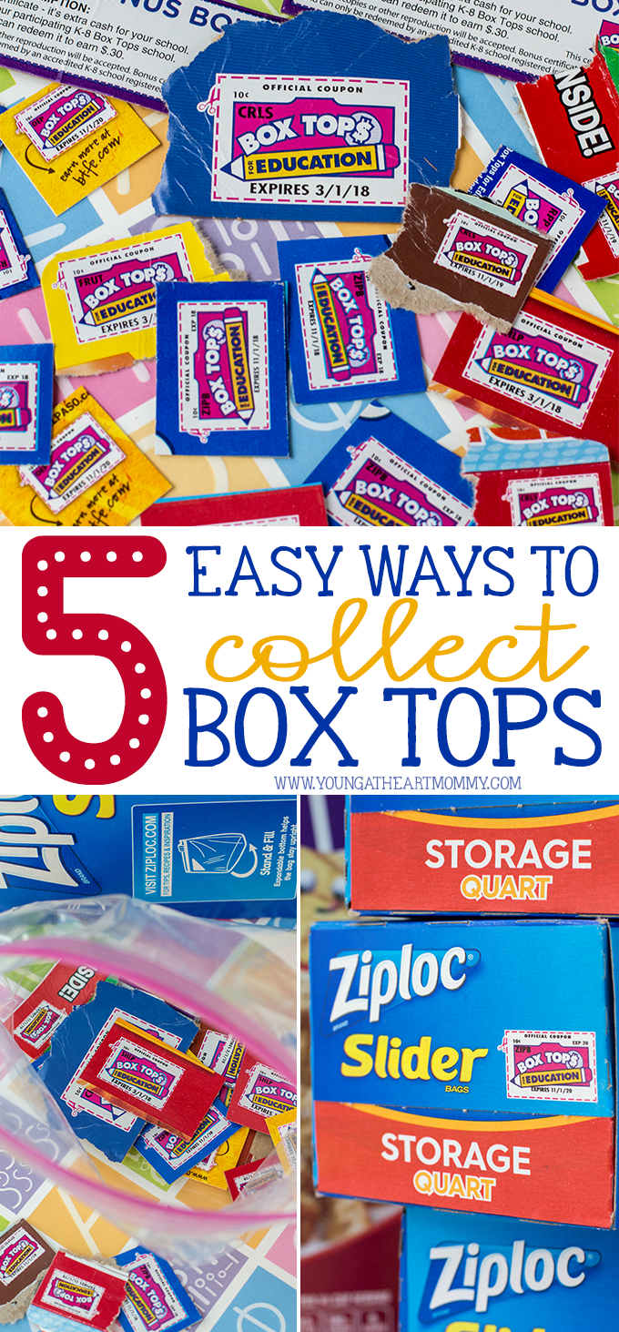 5 Easy Ways To Collect Box Tops For The Classroom
